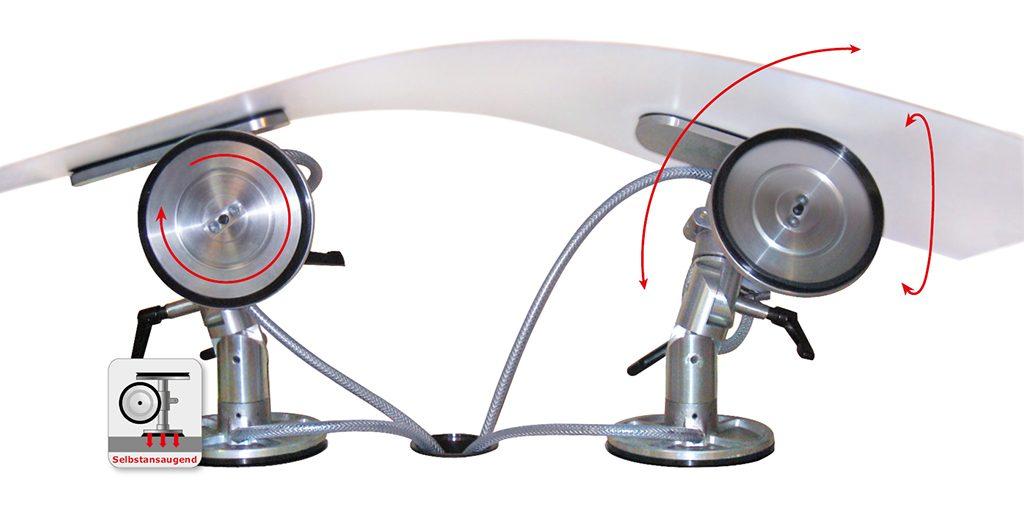 DOSCORNIO® bankmaster® MONO 3D Vakuumspannsystem selbstansaugend