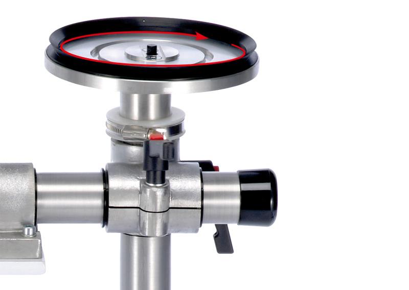 DOSCORNIO® bankmaster® Saugspannteller / Vacuum Plate