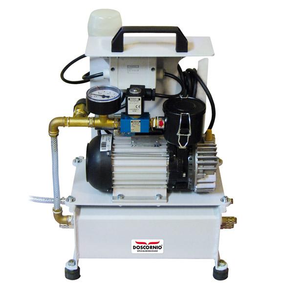 DOSCORNIO® bankmaster® Vakuum-Pumpenstation / Vacuum Pump Station