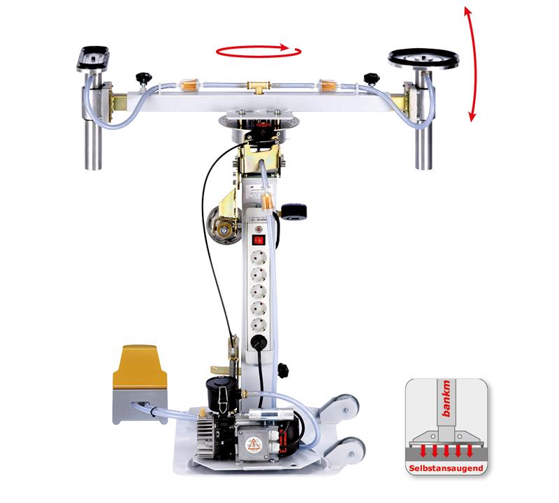 DOSCORNIO® bankmaster® VARIO 2 Vakuumspannsystem selbstansaugend
