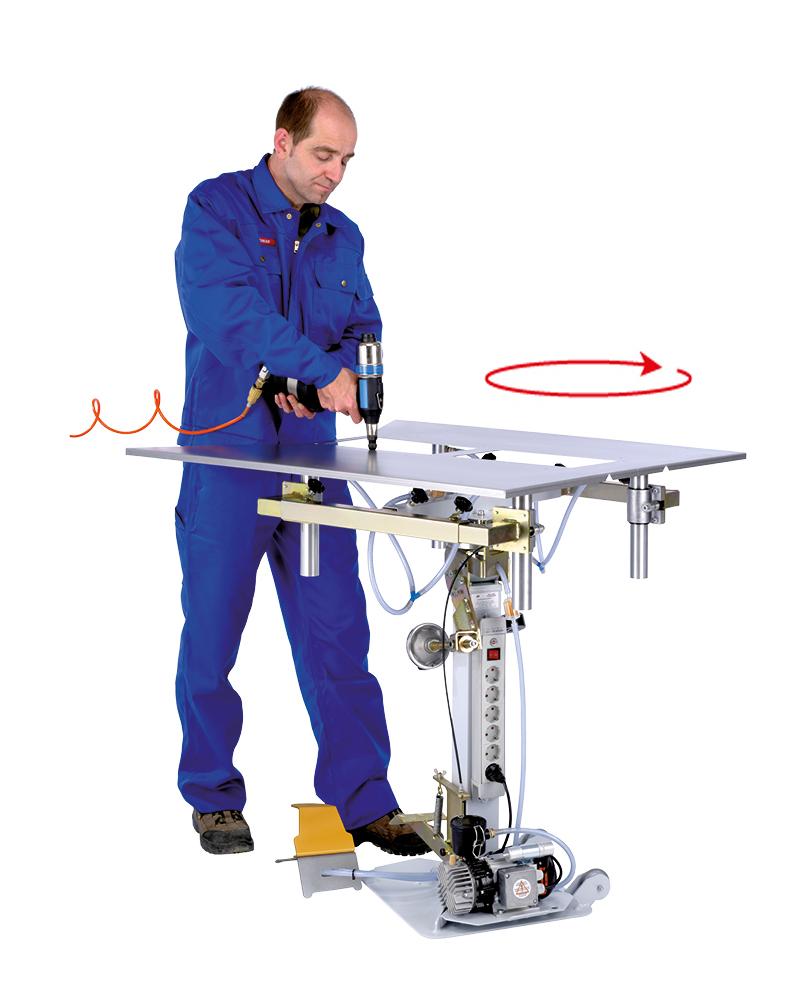 DOSCORNIO® bankmaster® VARIO 4 Bearbeitung rotierend / Usage rotate