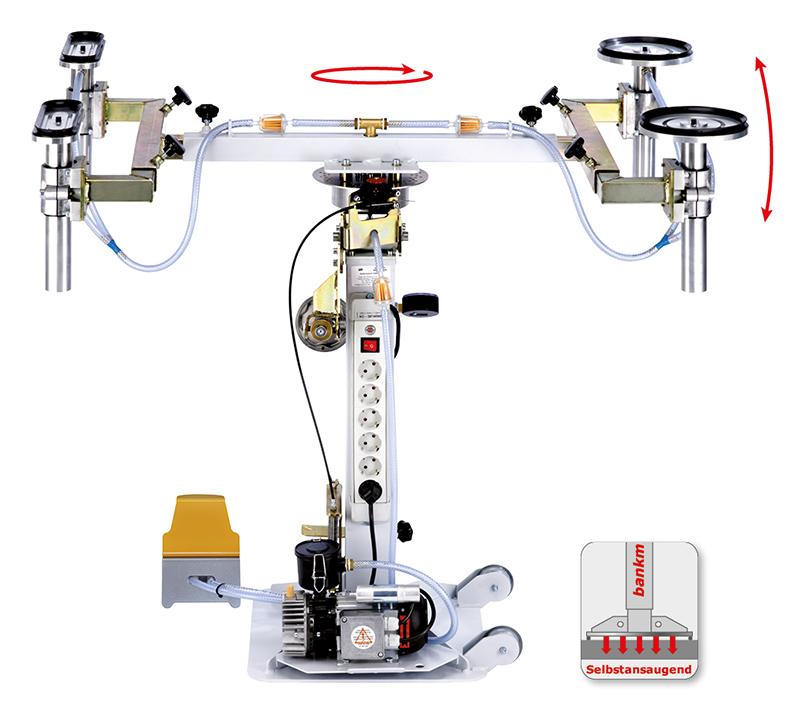 DOSCORNIO® bankmaster® VARIO 4 Vakuumspannsystem selbstansaugend