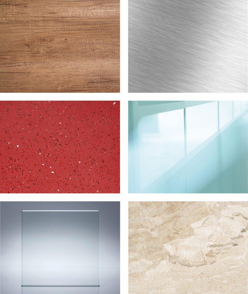 DOSCORNIO® Bearbeitung Materialien / process materials